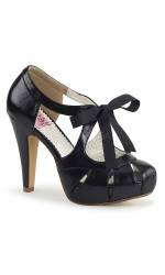 Bettie Black High Heel Vintage Pump