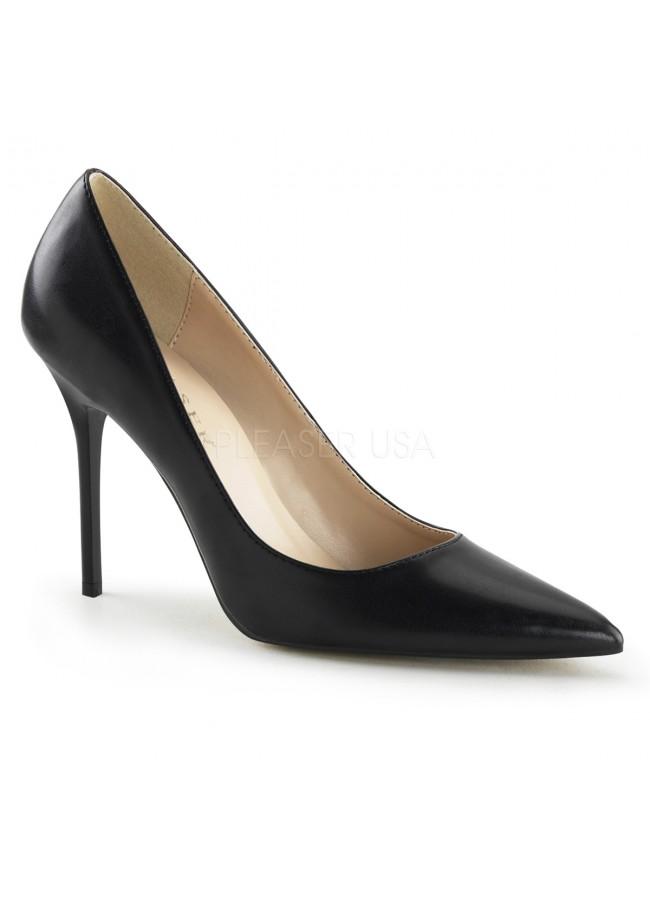 900ec08c7ff Classique Black 4 Inch High Heel Pump at Sensual Elegance Fashion
