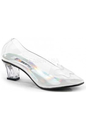 Crystal Clear Butterfly Cinderella Pump Sensual Elegance Fashion, Lingerie and Shoes Women's Sexy Clothing & Lingerie - Clubwear, Plus Size Clothing & Accessories