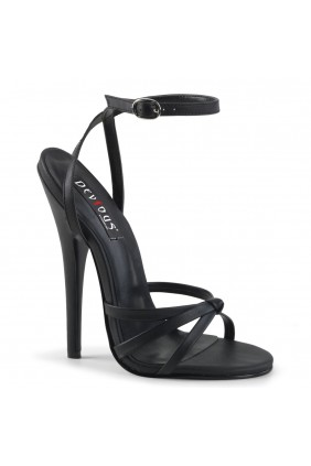 Black Domina High Heel Sandal Sensual Elegance Fashion, Lingerie and Shoes Women's Sexy Clothing & Lingerie - Clubwear, Plus Size Clothing & Accessories