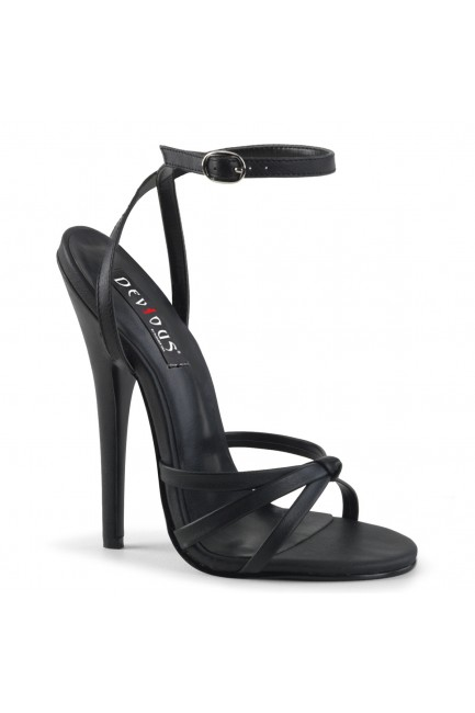 Black Domina High Heel Sandal at Sensual Elegance Fashion, Lingerie and Shoes, Women's Sexy Clothing & Lingerie - Clubwear, Plus Size Clothing & Accessories