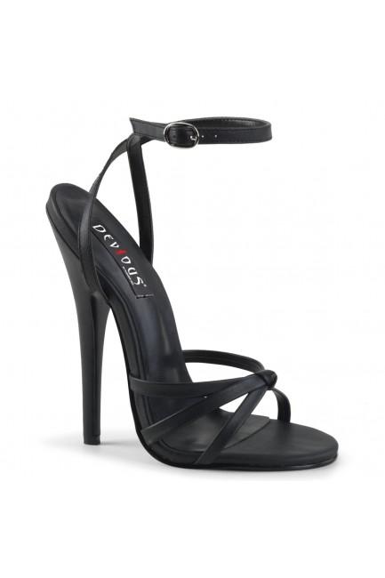 Black Domina High Heel Sandal