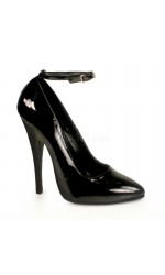 Ankle Strap Domina 6 Inch High Heel Pump