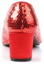 Dorothy Red Sequin 2 Inch Heel Pump at Sensual Elegance Fashion, Lingerie and Shoes, Women's Sexy Clothing & Lingerie - Clubwear, Plus Size Clothing & Accessories