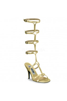 Roman Gold Gladiator Mule Sandal Sensual Elegance Fashion, Lingerie and Shoes Women's Sexy Clothing & Lingerie - Clubwear, Plus Size Clothing & Accessories