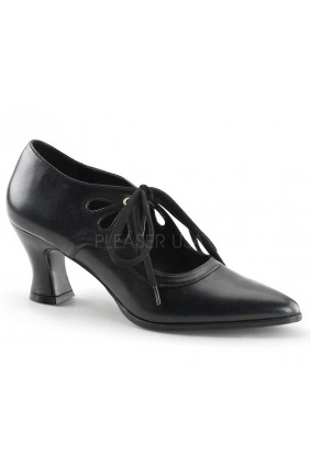 Victorian Black Cut Out Womens Pump Sensual Elegance Fashion, Lingerie and Shoes Women's Sexy Clothing & Lingerie - Clubwear, Plus Size Clothing & Accessories