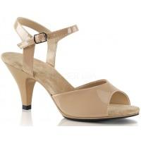 Nude Belle 3 Inch Heel Sandal