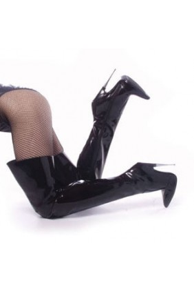 Thigh High Scream Fetish Boots with 6 Inch Heel Sensual Elegance Fashion, Lingerie and Shoes Women's Sexy Clothing & Lingerie - Clubwear, Plus Size Clothing & Accessories