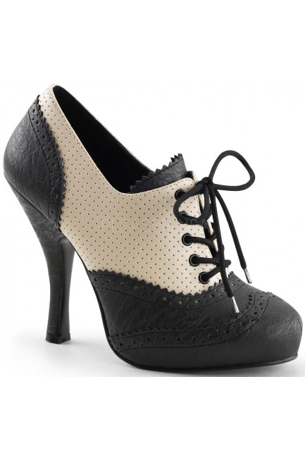 Cutie Pie Spectator Oxford Shoe at Sensual Elegance Fashion, Lingerie and Shoes, Women's Sexy Clothing & Lingerie - Clubwear, Plus Size Clothing & Accessories